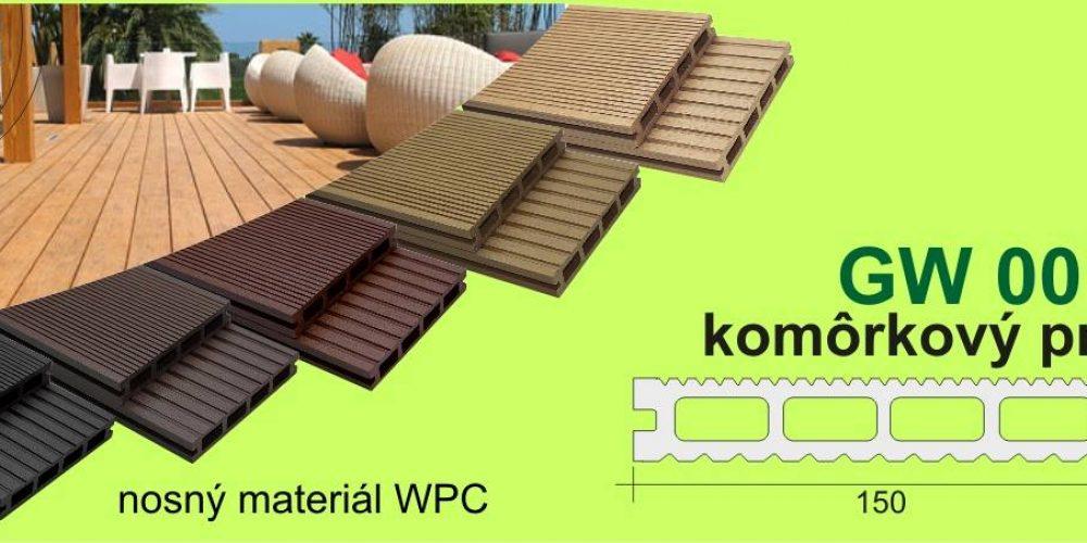 Nové kompozitné terasové dosky